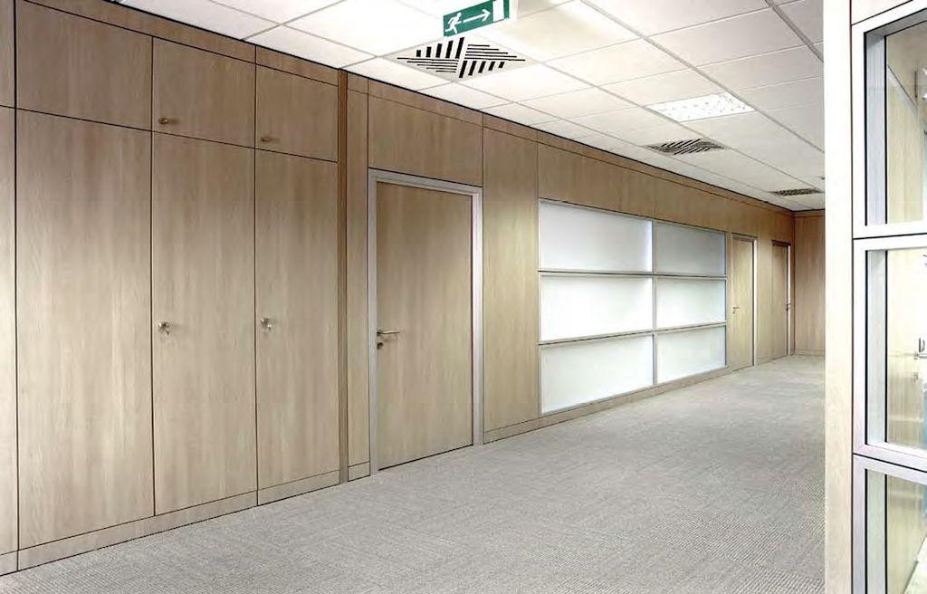 Pareti divisorie in legno for Uffici temporanei roma prezzi